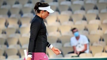 Roland Garros: Porażka w pierwszej rundzie Garbine Muguruzy