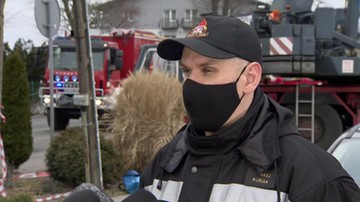 Straż pożarna o akcji w Dziwnowie: auto 10 metrów od brzegu