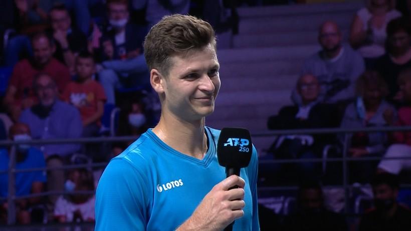 Hubert Hurkacz po zwycięstwie na turnieju ATP w Metz: Jestem przeszczęśliwy