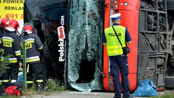 Wypadek Polskiego Busa na Podkarpaciu. Wielu rannych
