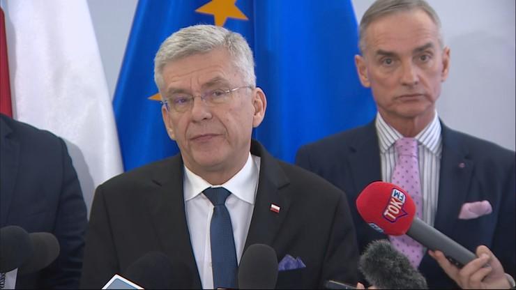 Karczewski zapytał Grodzkiego, kto zaproponował mu tekę ministra