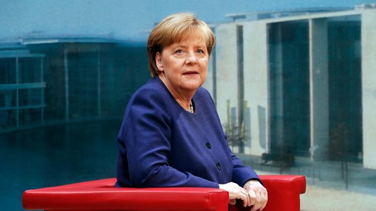 """""""Jeśli wygram, to pozostanę przez cztery lata na stanowisku kanclerza"""". Deklaracja Merkel"""