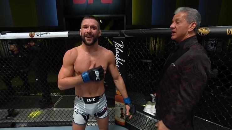 """Kolejna walka Mateusza Gamrota w UFC coraz bliżej. """"Kontrakt podpisany, niedługo wracam"""""""
