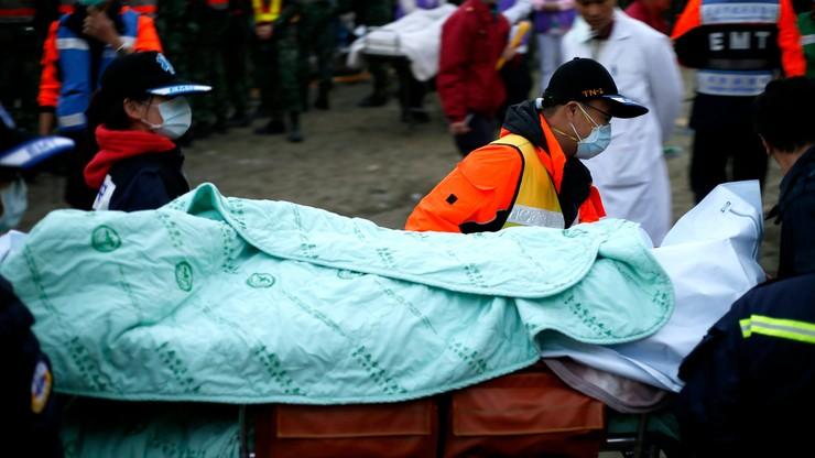 Wzrosła liczba ofiar trzęsienia ziemi na Tajwanie. Zginęły 92 osoby