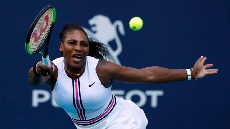WTA w Miami: Williams wycofała się z turnieju