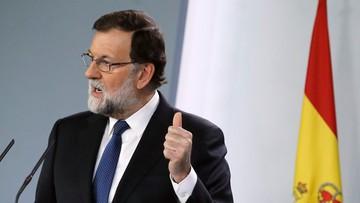 Premier Hiszpanii chce, by regionalny rząd Katalonii został rozwiązany. W piątek odbędzie się głosowanie w tej sprawie