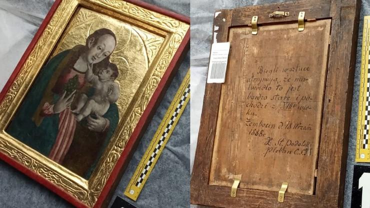 Wart 100 tys. zł obraz wisiał w parafii w Żębocinie. Nagle zniknął