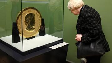 100-kilogramowa złota moneta skradziona z berlińskiego muzeum