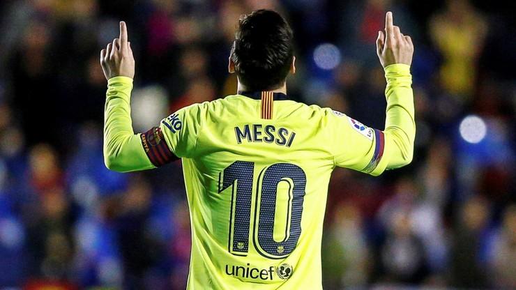 Koncert Barcelony! Levante rozgromione, hat-trick Messiego