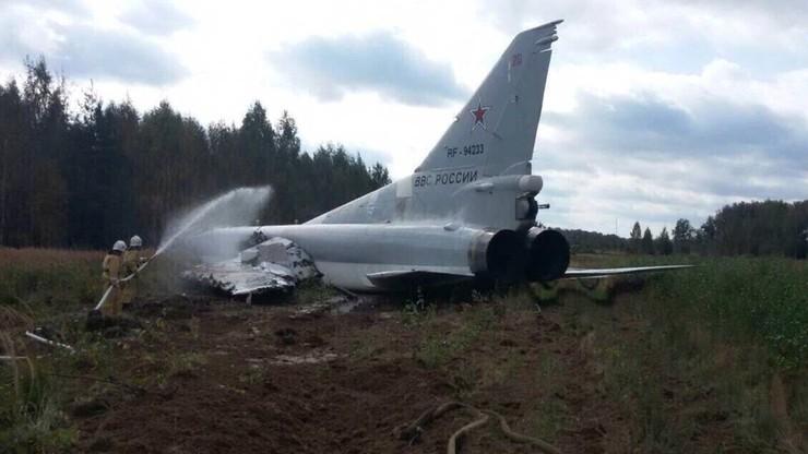 Wypadek rosyjskiego bombowca dalekiego zasięgu podczas manewrów Zapad-2017