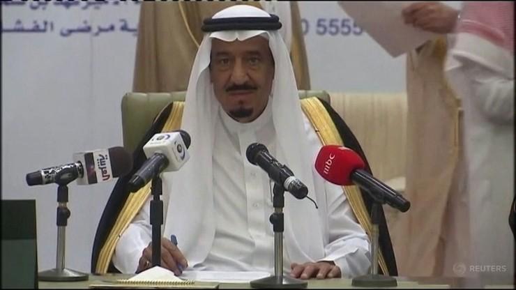 Król Arabii Saudyjskiej w szpitalu