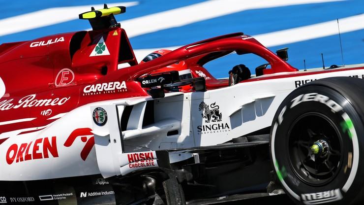 Lewis Hamilton najszybszy na Hungaroringu. Kolejny trening Roberta Kubicy