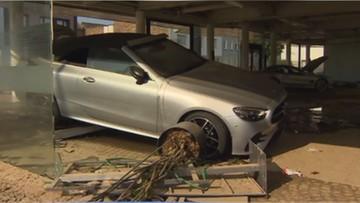 Popowodziowe samochody z Niemiec. Eksperci ostrzegają