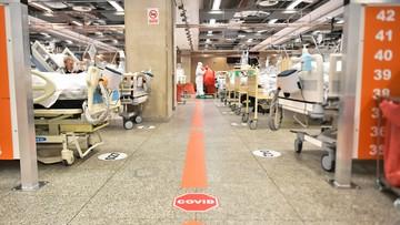 1400 więcej chorych na Covid-19 w szpitalach w ciągu jednej doby