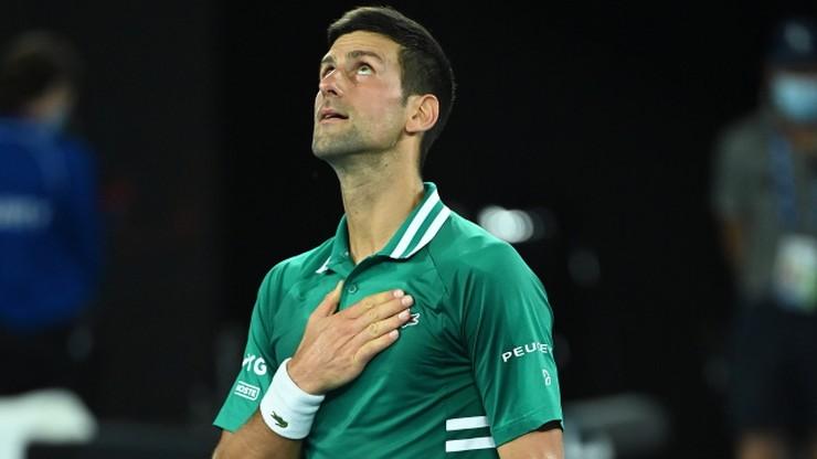 Australian Open: Novak Djoković - Asłan Karacjew. Relacja na żywo