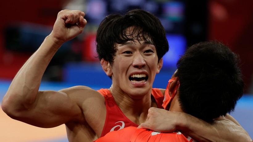 Tokio 2020: Otoguro złotym medalistą w zapasach w stylu wolnym