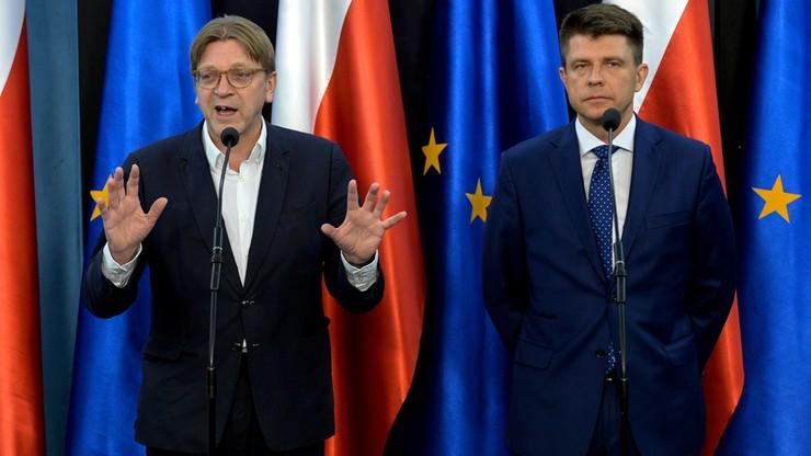 Verhofstadt: negocjacje dotyczące Wielkiej Brytanii będą przejrzyste i otwarte