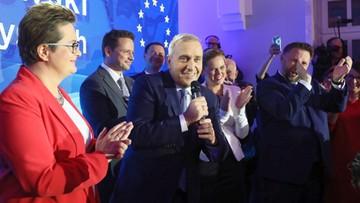 Schetyna chce utrzymać koalicję z Lubnauer i Nowacką na kolejne wybory