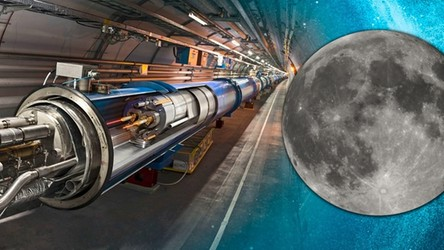 Wielki Zderzacz Hadronów poleci na Księżyc. NASA chce symulować Wielki Wybuch