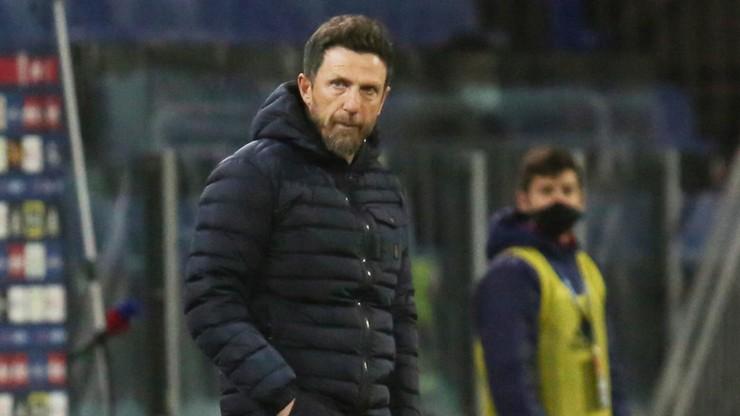 Serie A: Eusebio Di Francesco stracił pracę w Cagliari