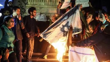 Protesty w krajach arabskich przeciwko decyzji Trumpa. Kilkadziesiąt tysięcy osób wyszło na ulicę