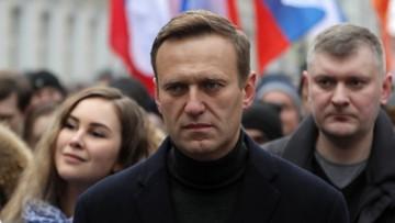 """""""Kolejna próba zastraszenia"""", """"nie złamią go więzieniem"""". Politycy po zatrzymaniu Nawalnego"""