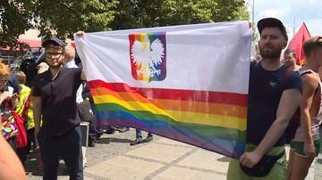 Prokuratura wszczęła śledztwo ws. tęczowego godła na marszu równości w Częstochowie