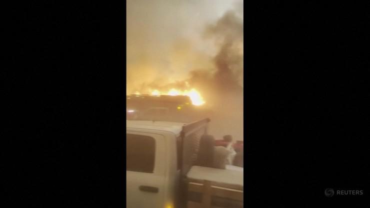 Pożar w mieście Doyle