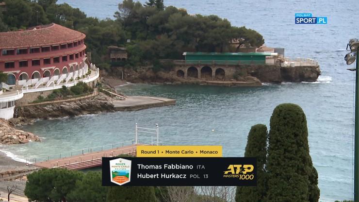 Thomas Fabbiano - Hubert Hurkacz 1:2. Skrót meczu