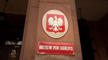 MSZ: Polska przyjmuje do wiadomości wyniki referendum w Turcji