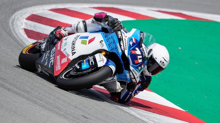 Piotr Biesiekirski po udanych testach. Teraz start w MŚ Moto2 w Barcelonie