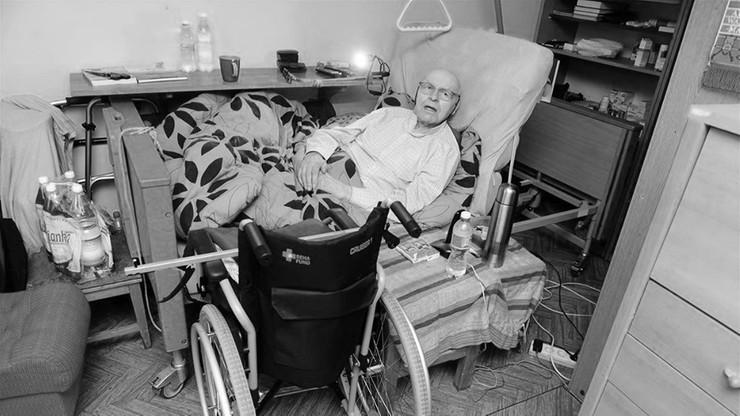 Zmarł strażak-bohater z Olsztyna. Nie doczekał platformy dla niepełnosprawnych