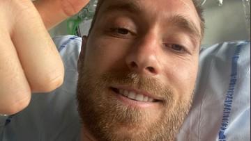 Eriksen wyszedł ze szpitala. Odwiedził kolegów