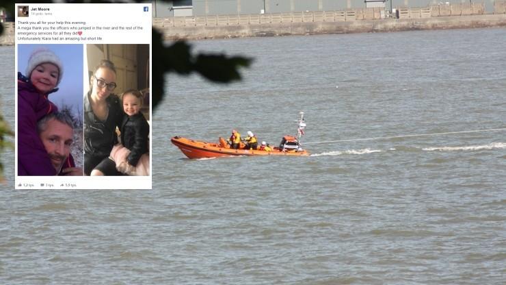 """""""Ktoś ukradł samochód z moją córeczką w środku"""". Auto znaleziono w rzece, 3-letnia Kiara zmarła"""