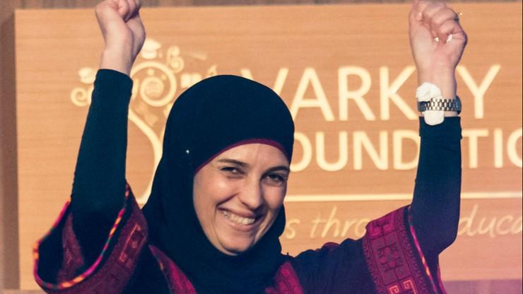 """Palestynka wychowana w obozie dla uchodźców zdobyła """"pedagogicznego Nobla"""""""