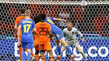 Euro 2020: Holandia - Ukraina 2:2. Gol Romana Jaremczuka