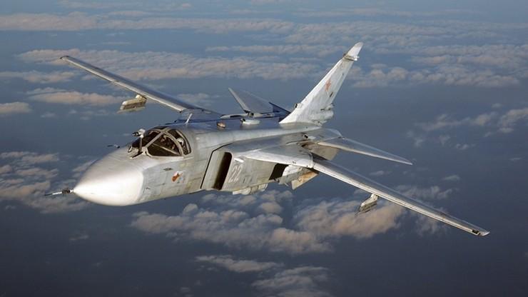Przerwana misja bojowa rosyjskiego bombowca taktycznego Su-24 w Syrii. Nie żyje dwóch pilotów