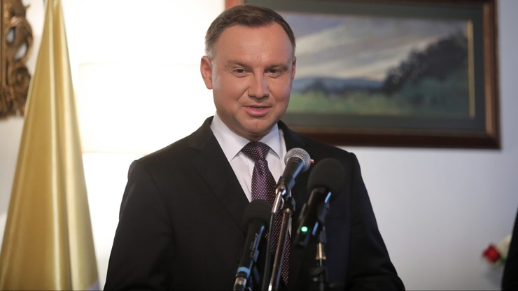 Andrzej Duda w rocznicę odbudowy Zamku Królewskiego: trudno uwierzyć, że 50 lat temu były tu ruiny