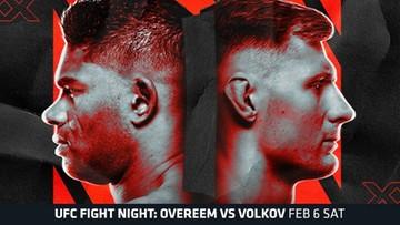 UFC Fight Night: Overeem - Volkov. Gdzie obejrzeć?