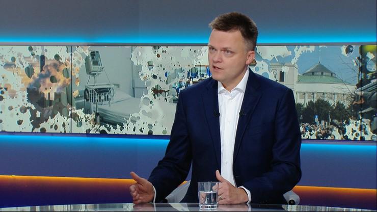 """Szymon Hołownia w """"Graffiti"""": zapewniam uczniów, że ratunek jest już blisko"""