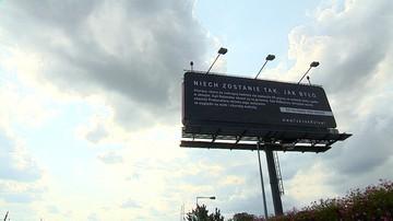 """""""Kampania billboardowa nie łamie prawa"""" - mówią prezesi spółek, które ją sfinansowały. """"Teraz etap zagraniczny"""""""