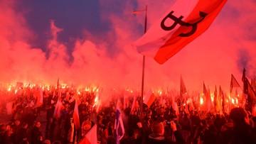 """""""Jesteśmy nadzieją, że cywilizacja nie upadnie"""". Marsz Niepodległości w Warszawie"""