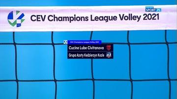 Cucine Lube Civitanova – Grupa Azoty ZAKSA Kędzierzyn-Koźle 1:3. Skrót meczu