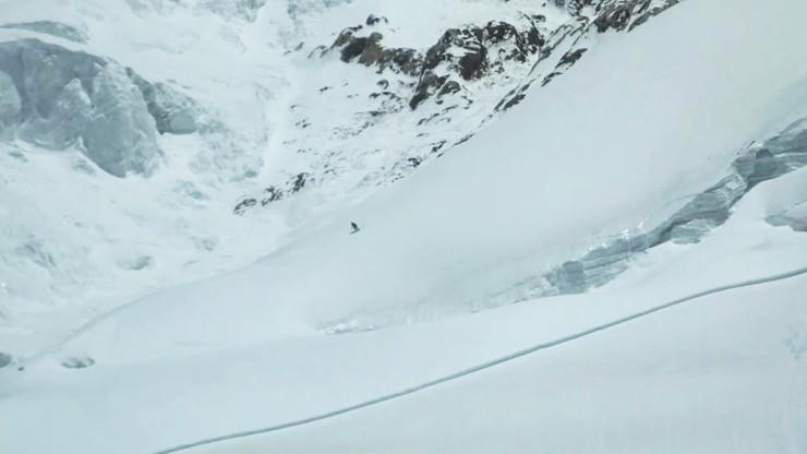 Bargiel zjechał na nartach z K2. Dotarł do obozu trzeciego. Historyczny wyczyn Polaka