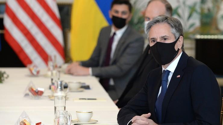 Sekretarz stanu USA zapewnia o poparciu dla Ukrainy. Rosyjskie MSZ: odpowiemy na wzmacnianie NATO