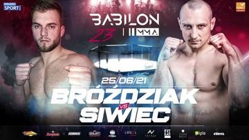 Babilon MMA 23: Pojedynek specjalistów od poddań. Bróździak kontra Siwiec