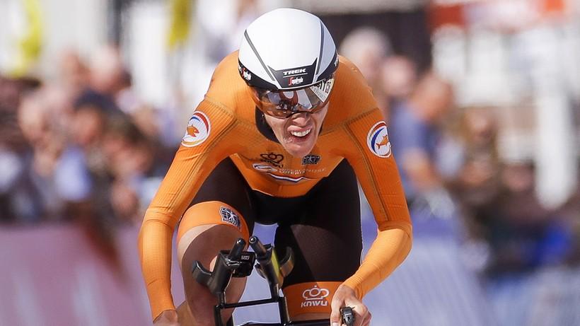 MŚ w kolarstwie: Ellen van Dijk ze złotym medalem w czasówce