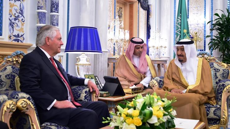 Arabia Saudyjska: bez przełomu ws. Kataru podczas wizyty Tillersona
