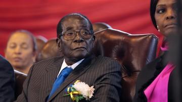 """Prezydent Zimbabwe ustąpił ze stanowiska. """"Chcę płynnie przekazać władzę"""""""