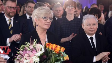 """Prezes TK Julia Przyłębska odebrała nagrodę """"Człowieka wolności"""" tygodnika """"Sieci"""""""